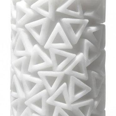 Tenga 3D Pile Многоразовый мастурбатор с треугольниками