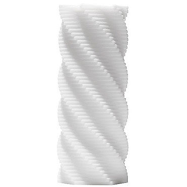 Tenga 3D Spiral Многоразовый мастурбатор с ребрышками