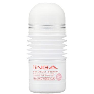 Tenga Rolling Head Soft Нежнейший мастурбатор с подвижной головкой
