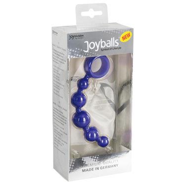 JoyDivision Joyballs Anal Wave 17 см, синий Анальный стимулятор
