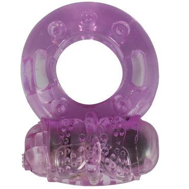 LoveToy Виброкольцо, розовое Виброкольцо для пениса