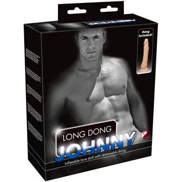You2Toys Long Dong Jonny, телесная Кукла с реалистичным фаллосом