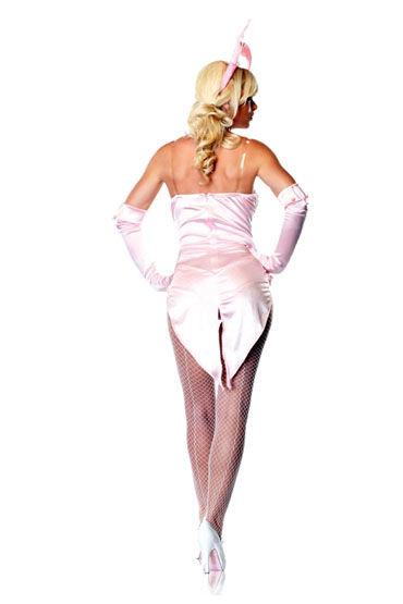 Le Frivole Кролик, розовый Боди-фрак, перчатки и ушки