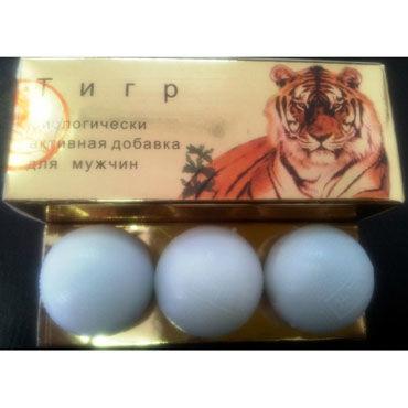 Тигр Лаоху, 3 шт, БАД для повышения потенции от condom-shop.ru