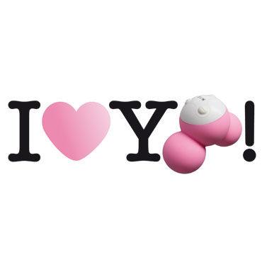 Fun Factory Yooo, розовый Вибратор для точечной стимуляции + зарядка