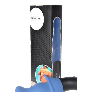 Fun Factory Stronic Zwei, голубой Перезаряжаемый пульсатор для анальной стимуляции, совершающий поступательные движения