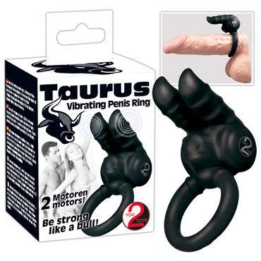 You2Toys Taurus Penisring, черное Эрекционное кольцо