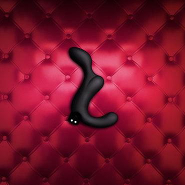 Fun Factory Duke, черный Перезаряжаемый стимулятор простаты анатомической формы