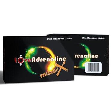 LoveAdrenaline Mister X, 5x5 мл, БАД для повышения сексуального влечения от condom-shop.ru