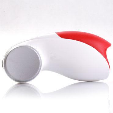 Fun Factory Cobra Libre, красно-белый Инновационный мастурбатор с вибрацией + зарядка