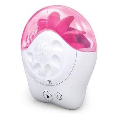 Sqweel 2, бело-розовый Клиторальный стимулятор, имитирующий оральные ласки