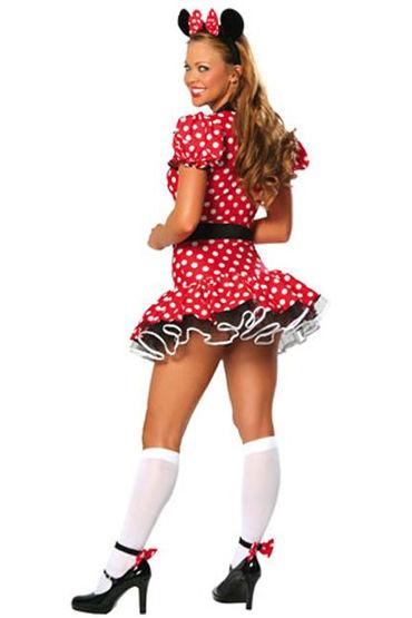 Le Frivole Мини Маус Платье с подъюбником, ушки и ремень