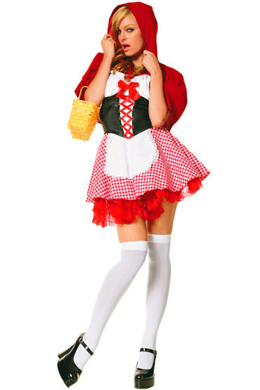 Le Frivole Красная Шапочка, Платье с накидкой - Размер S-M