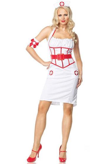 Le Frivole Главный врач, Платье, чепчик, ремень и нарукавник - Размер M-L
