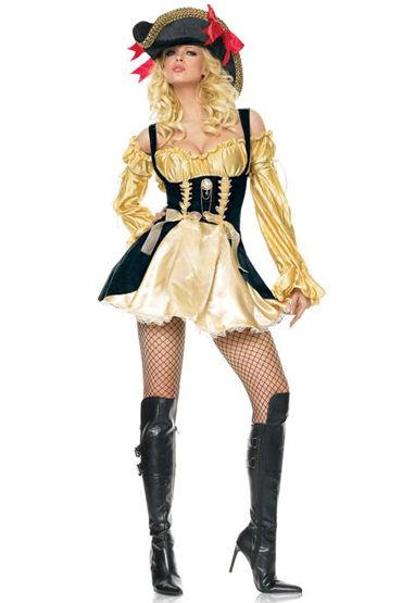 Le Frivole Роскошная пиратка, Красивое платье с пышной юбкой - Размер S-M