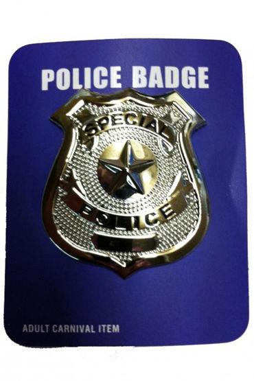 Le Frivole нагрудный значок Для образа полицейского