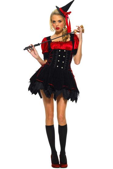 Le Frivole Озорная ведьмочка, Платье с пышной юбочкой - Размер S-M от condom-shop.ru