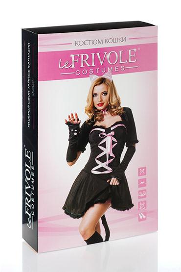 Le Frivole Гламурная киса Платье, болеро, ушки и украшение на шею