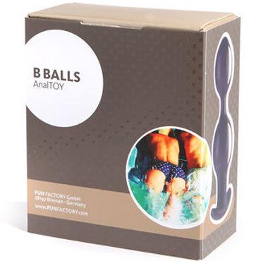 Fun Factory B Balls, фиолетовый Анальные шарики с динамическим центром тяжести