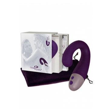 Close2you Opus фиолетовый Вибратор точки G и клиторальный стимулятор