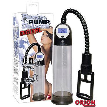 Digital Penis Pump Прозрачная помпа