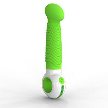Odeco O-zone, зеленый Вибратор точки G с увеличенной головкой