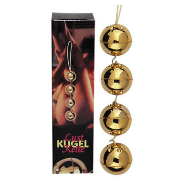Lust Kugel Kette, 4 шарика Вагинальные шарики