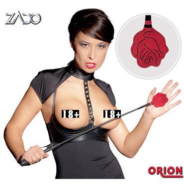 Zado Rose, стек С кожаным наконечником в виде розы