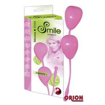 Smile Love Balls розовые Вагинальные шарики для тренировки мышц