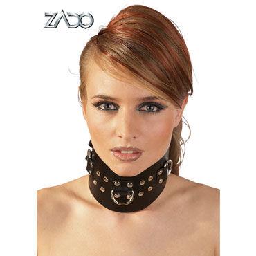 Zado Leather Bondage Collar Ошейник с металлической отделкой