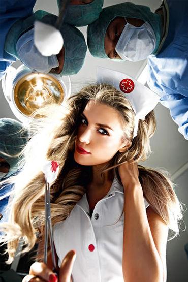 Baci Старшая Медсестра Халатик и шапочка на голову