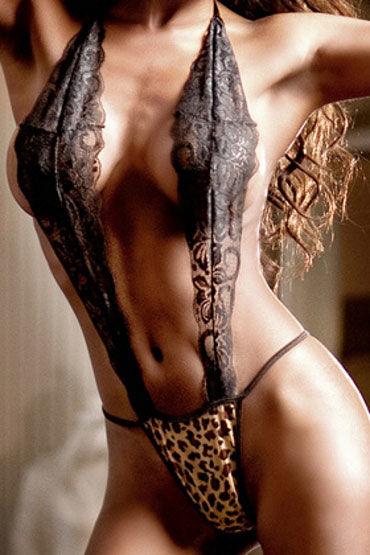 Baci монокини, леопардовое С узором и кружевом