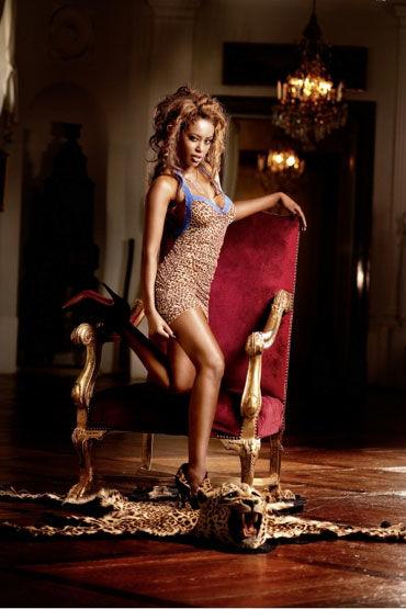 Baci мини-платье, леопардовое С кружевными бретельками