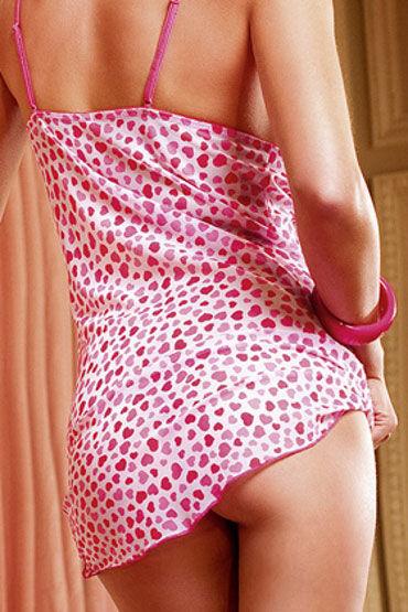 Baci комплект, розовый Сорочка с трусиками