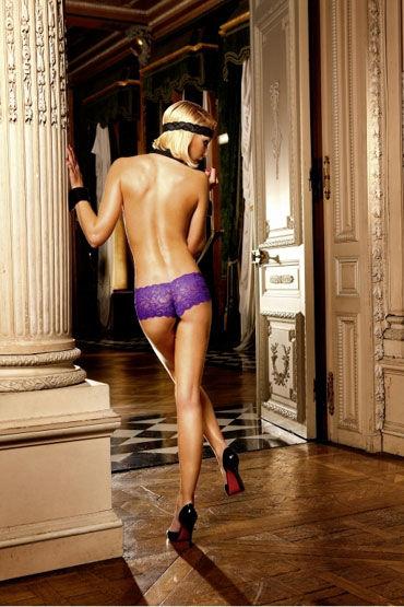 Baci трусики, фиолетовые Классические из кружева