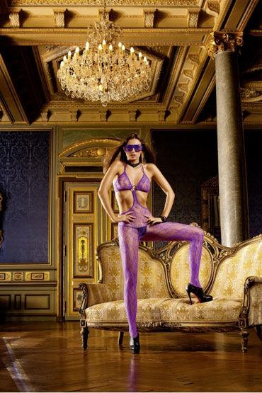 Baci кэтсьюит, фиолетовый С соединительным кольцом