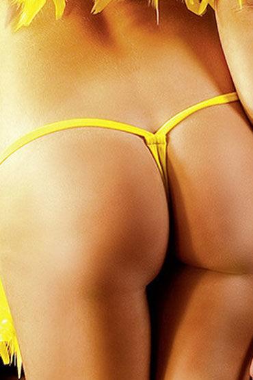 Baci трусики, желтые V-образные