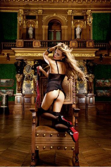 Baci мини-платье, черное С открытыми чашечками