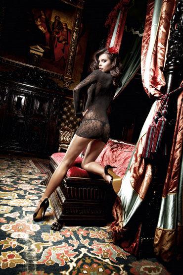 Baci мини-платье, черное Классического дизайна