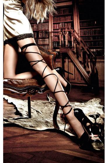 Baci подвязка, черная Со шнуровкой