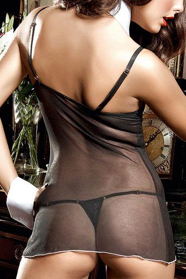 Baci мини-платье, черное Из тюлевой ткани