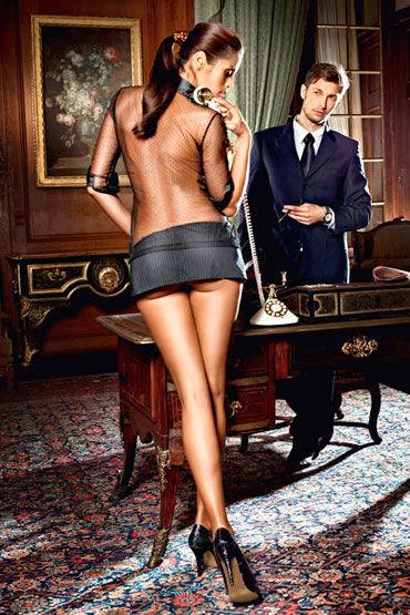 Baci Мечта Босса Блуза и мини-юбка