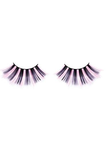 Baci Lashes, черно-розовый Накладные ресницы