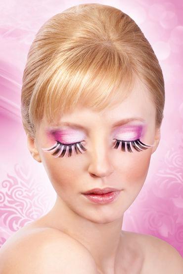 Baci Lashes, черно-розовый, Накладные ресницы