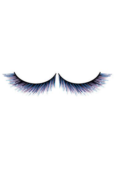 Baci Lashes Deluxe, сине-черный Накладные ресницы