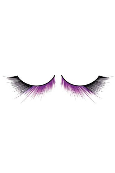Baci Lashes, черно-фиолетовый Накладные ресницы