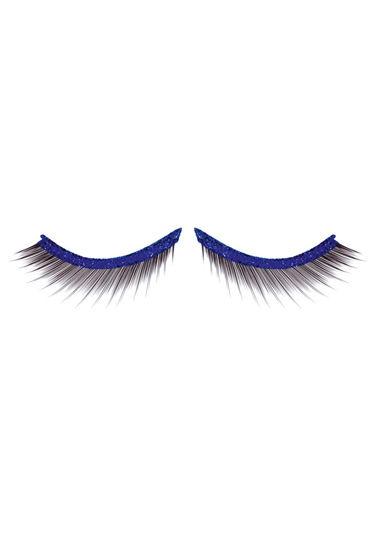 Baci Lashes Premium, черно-синий Накладные ресницы