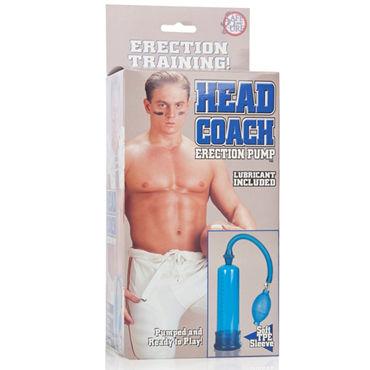 California Exotic Head Coach Penis Pump Мужская вакуумная помпа