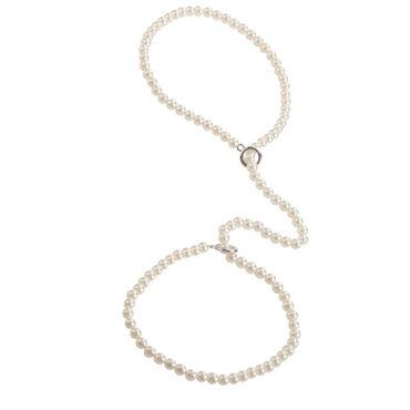 California Exotic Playful In Pearls Pearl Cuf Наручники из нити жемчуга