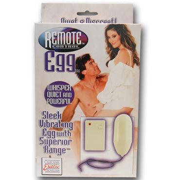 California Exotic Remote Control Eggs, черный Беспроводной стимулятор
